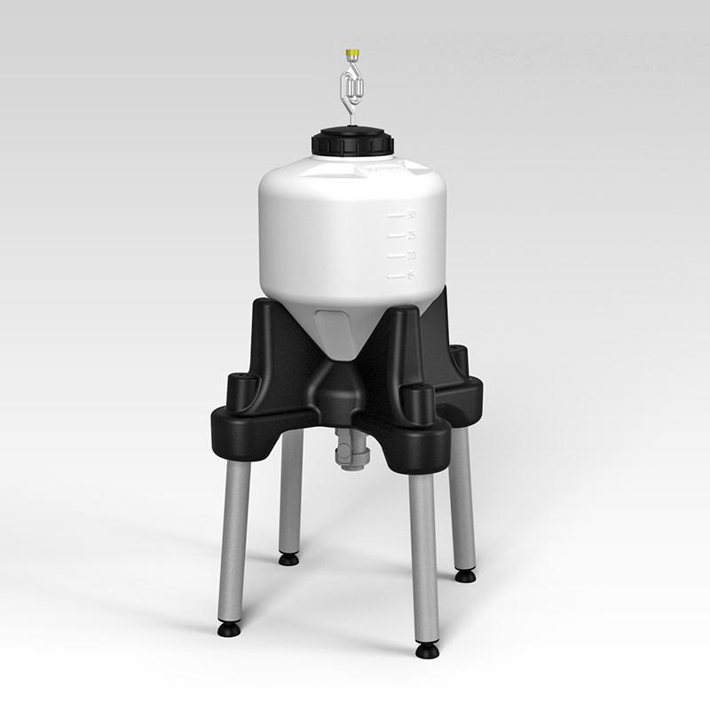 Емкость ЦКТ 35 л с подставкой (комплектация премиум)
