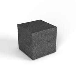 Декоративная фигура Flox Куб черный гранит