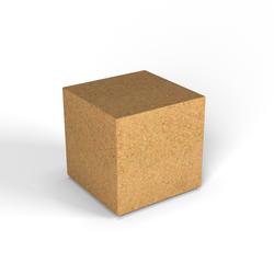 Декоративная фигура Flox Куб песочный гранит