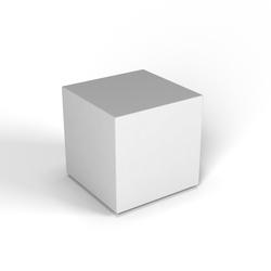 Декоративная фигура Flox Куб белый