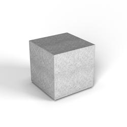 Декоративная фигура Flox Куб белый гранит