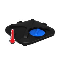 Бак для душа Rostok 110 л с подогревом воды