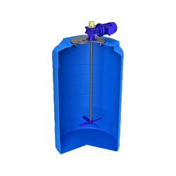 Емкость T 500 л с лопастной мешалкой