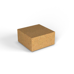 Декоративная фигура Flox Полукуб песочный гранит