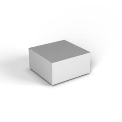 Декоративная фигура Flox Полукуб белый