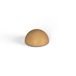 Декоративная фигура Flox Полусфера песочный гранит