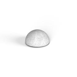Декоративная фигура Flox Полусфера белый гранит