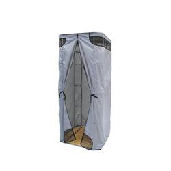 Дачная душевая кабина Rostok без бака (серая)