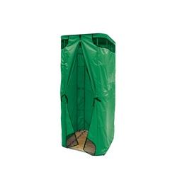 Дачная душевая кабина Rostok без бака (зеленая)