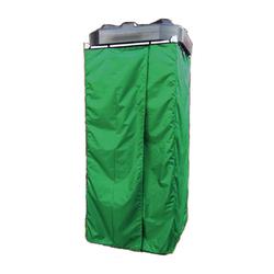 Дачная душевая кабина Rostok сборная с баком (зеленая)