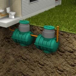 Автономная канализация Rostok Дачная Плюс